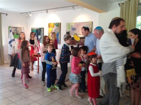 Torah procession