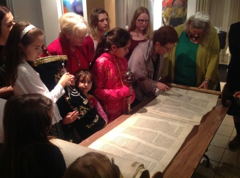 Reading from the end of the Torah