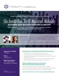 An Invitation to a Musical Miracle