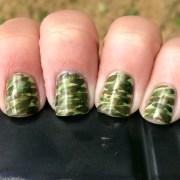 camouflage nails tutorial polish