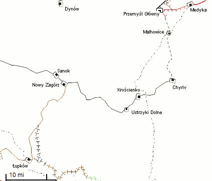 przemysl_zagorz_map