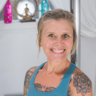 Jennifer Rollins, Pole Practitioner of Pole Yoga