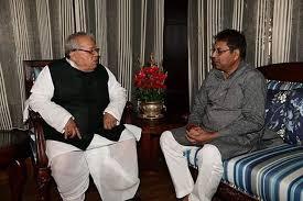 Kalraj Mishra And Satish Poonia