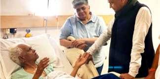 'भाईजी' का हाल जानने SMS अस्पताल पहुंचे सीएम गहलोत(FILE PHOTO)