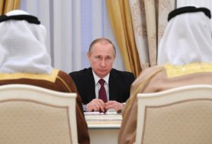 President Vladimir Putin meets with Crown Prince of Abu Dhabi Mohammed bin Zayed Al Nahyan