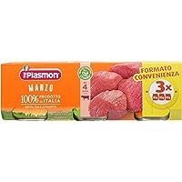 Plasmon Omogeneizzato di Carne, Manzo - 24 Vasetti da 80 gr