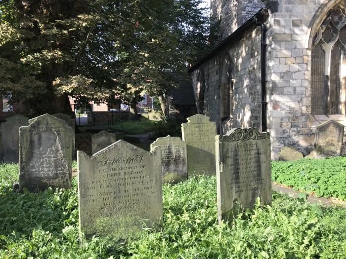 A Churchyard of Bishophill in York