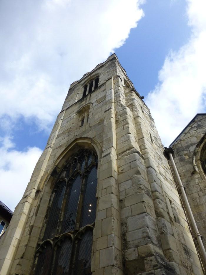 Gazing Up at St Saviour's Parish Church in York