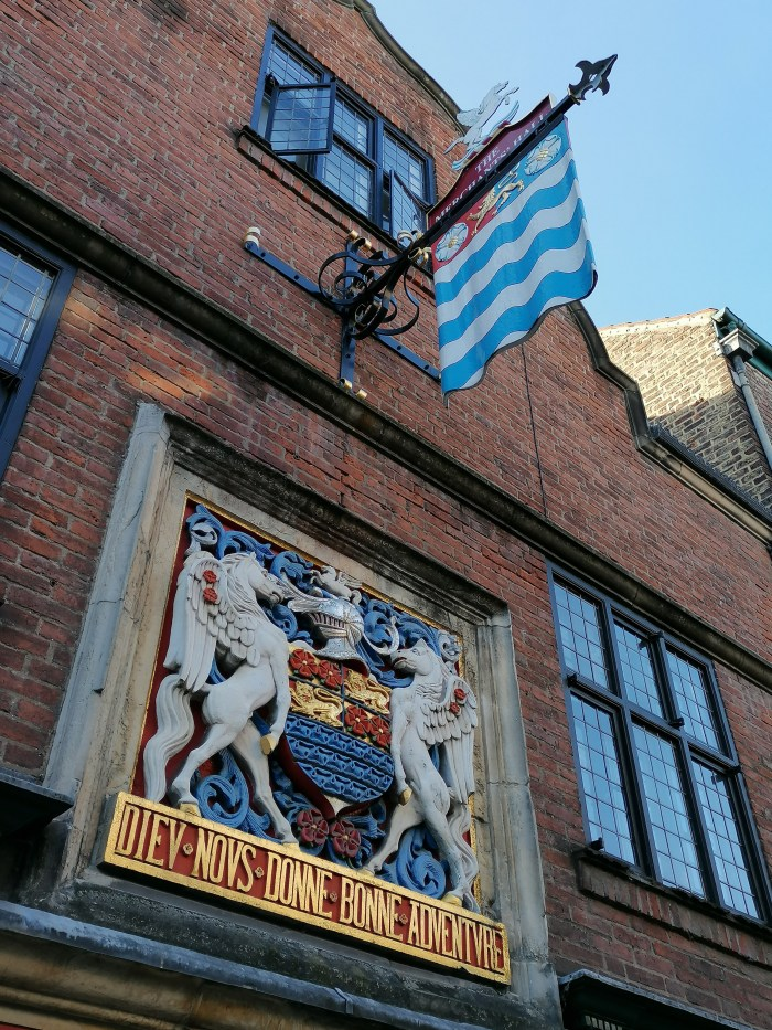 To the Merchant Adventurer's Hall in York