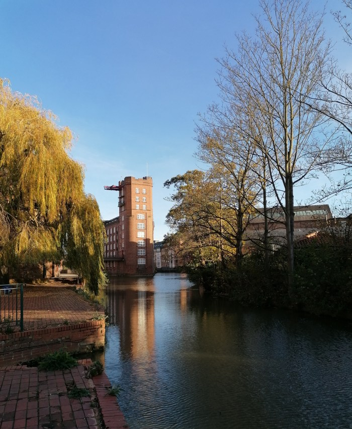 Along the River Foss to the Leetham Mill