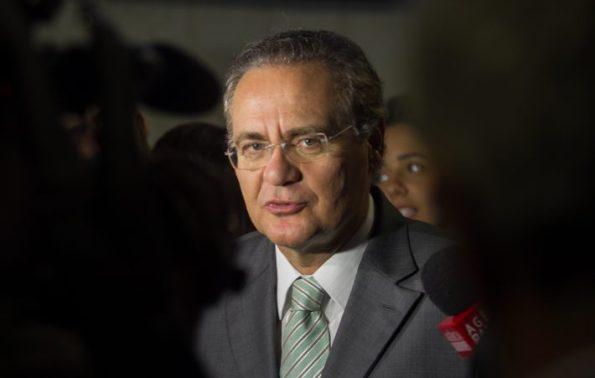 Renan Calheiros. Foto: Ed Ferreira/Estadão.