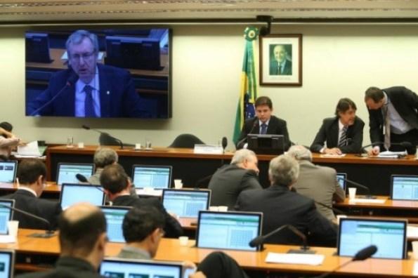 Sessão da CPI da Petrobrás. Foto: André Dusek/Estadão