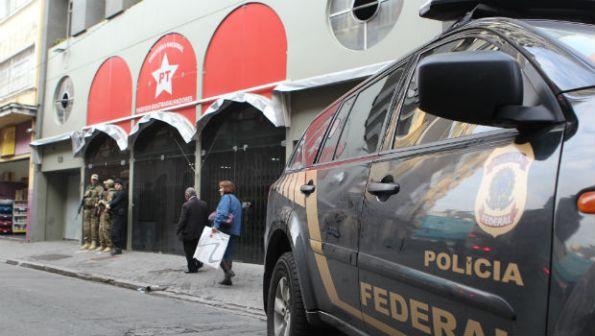 Diretório do PT em São Paulo foi alvo da Operação Custo Brasil. Foto: Estadão