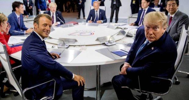 Cúpula do G7 aceita ajudar o Brasil e países afetados por incêndio na Amazônia.