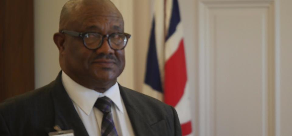 Bermuda MP Kenneth Bascome