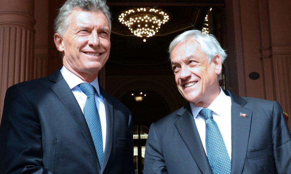 El Presidente Mauricio Macri recibi en Casa Rosada al Presidente de Chile Sebastin Piera  Poltica 3D