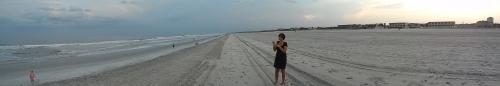 Beach or work