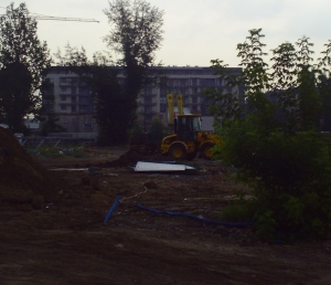 blocks of flats in Poland under construction