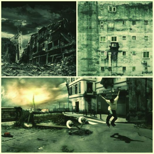 future images of post apocalyptic of the USA