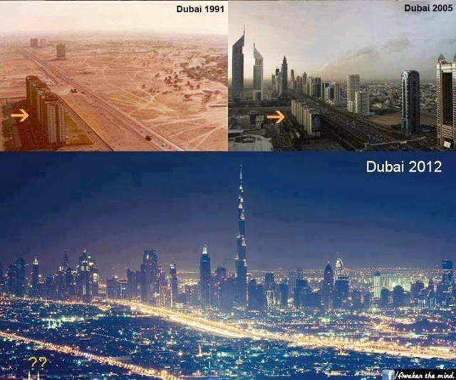 Dubai: Before and After