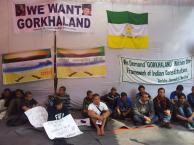 Gorkhas Demanding Gorkhaland