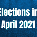 Title Image: April 2021 Election Calendar