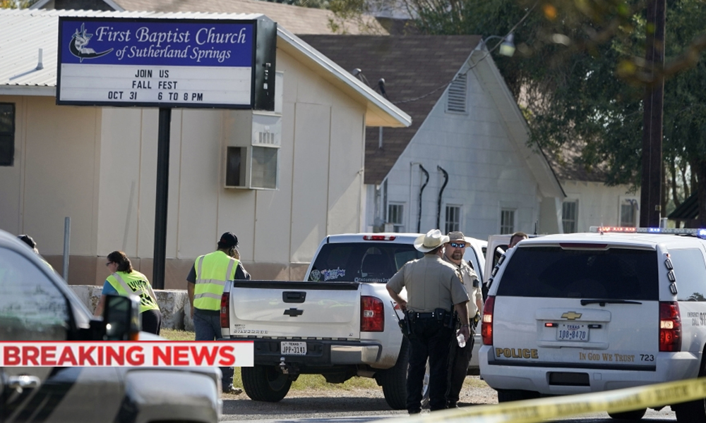 Image result for mass shooting in sutherland Springs, texas, November 5, 2017