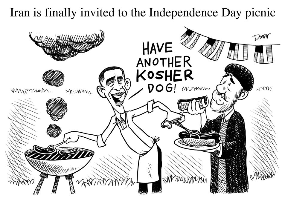 Iran and Cartoons: US Iran Relations