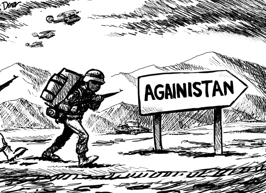 afghanistan cartoon