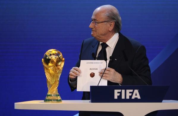 Fifa Blatter RUSIA