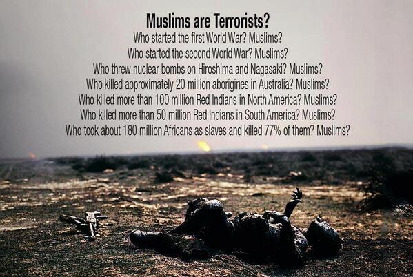 Teroristi musulmani