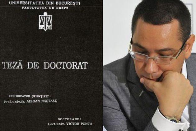 Doctorat Ponta
