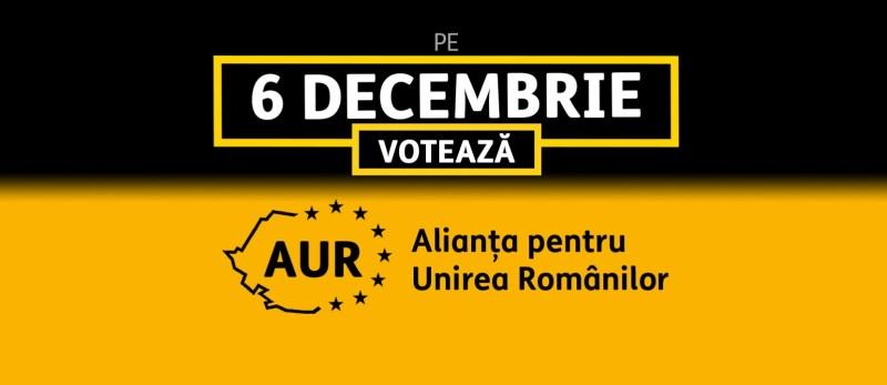 de ce voi vota AUR la alegerile parlamentare din 6 decembrie 2020