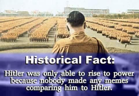 fact-hitler-rose-to-power-because-nobody-made-any-memes-comparing-him-to-hitler