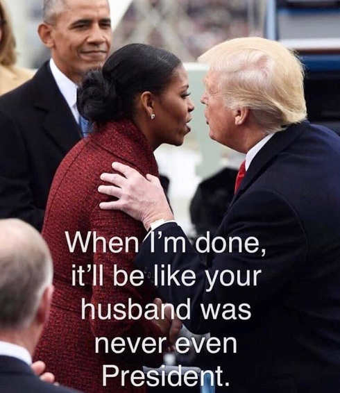 trump-whispering-to-michelle-obama-pretty-soon-as-if-presidency-didnt-exist