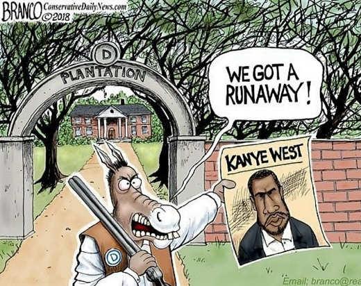 we-got-a-runaway-democrat-plantation-kanye-west