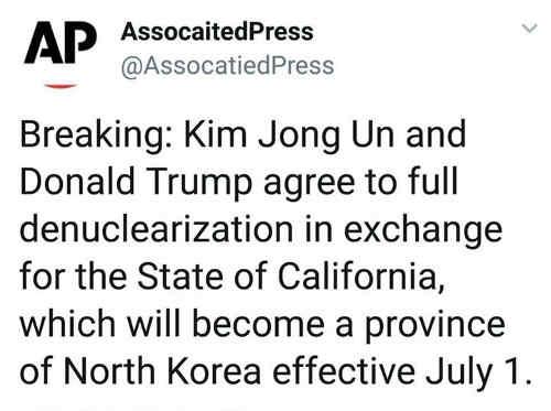 breaking-kim-jong-un-trump-agree-denuclearization-for-california