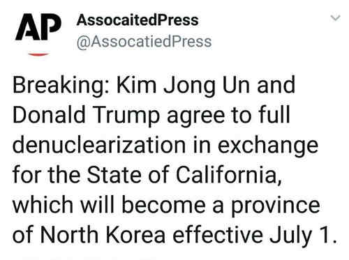 breaking-kim-jong-un-trump-agree-denuclearization-for-california