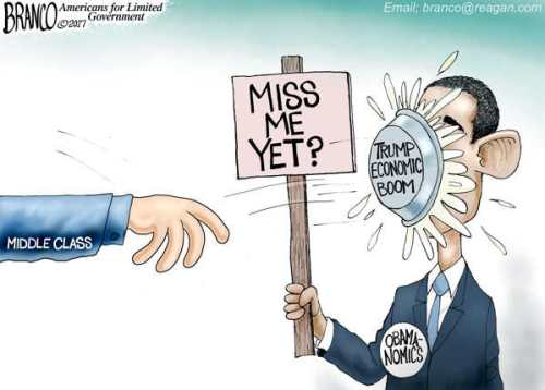 obama-miss-me-yet-trump-economy-pie-in-face
