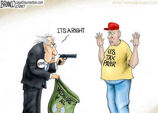 bernie-sanders-hold-up-taxpayer-medicare-is-a-right