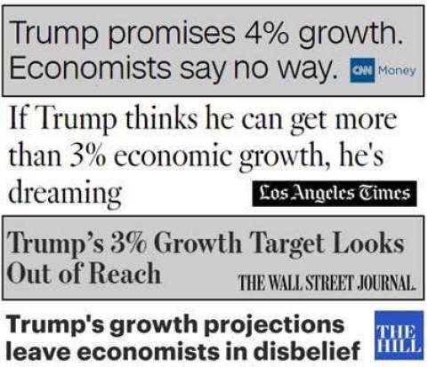 cnn-wall-street-journal-la-times-mocking-trump-growth-predictions