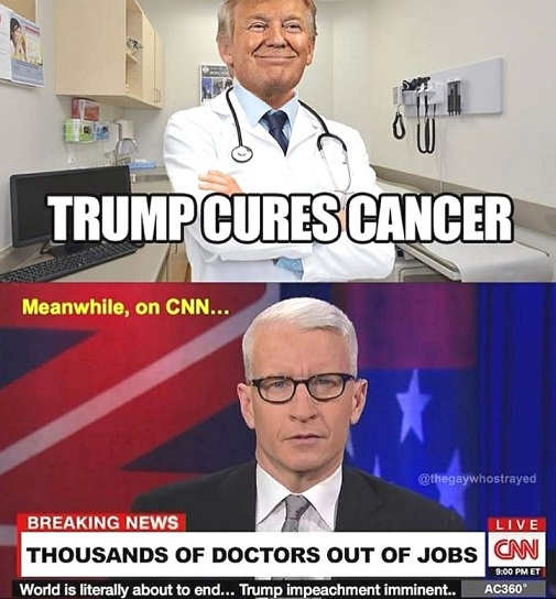 trump-cures-cancer-cnn-thousands-doctors-out-of-job
