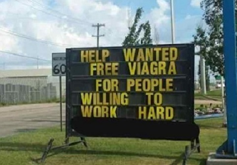 viagra-work-hard help wanted sign
