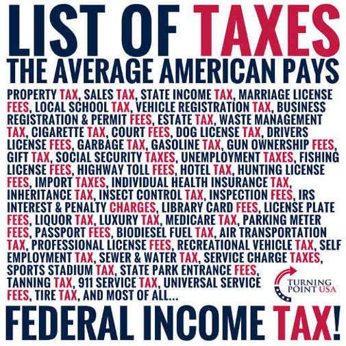 list-of-taxes-average-america-taxpayer-pays-property-state-federal-liquor-gift-inheritance