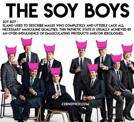 soy-boys-pussy-hates-colbert-meyers-obama--fallon-maher