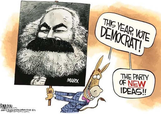 this-year-vote-democrat-party-of-new-ideas-karl-marx-picture