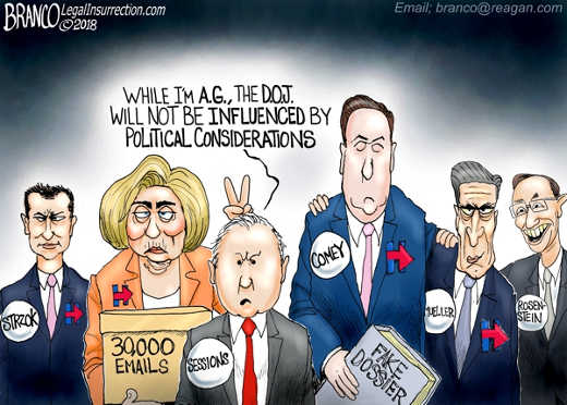 while-im-attorney-general-sessions-not-influenced-by-politics-hillary-strok-comey-mueller-rosenstein