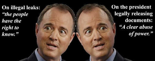 adam-schiff-illegal-leaks-people-right-to-know-legal-release-documents-abuse-of-power