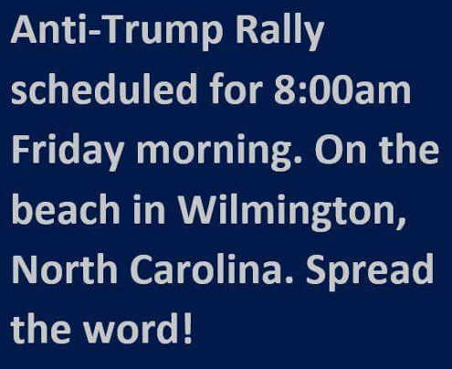 anti-trump-rally-wilmington-beach-spread-the-word