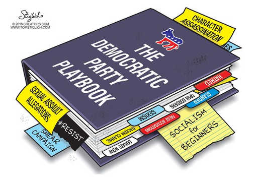 democrat-party-playbook-character-assassination-sexaul-assault-allegations-socialism-for-beginners